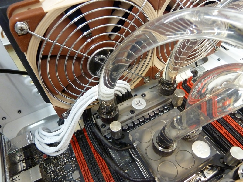 CM Storm Styker Custom Water Cooling Loop