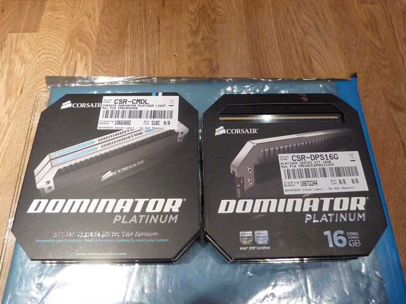 Corsair Dominator Platinum - Light Bars